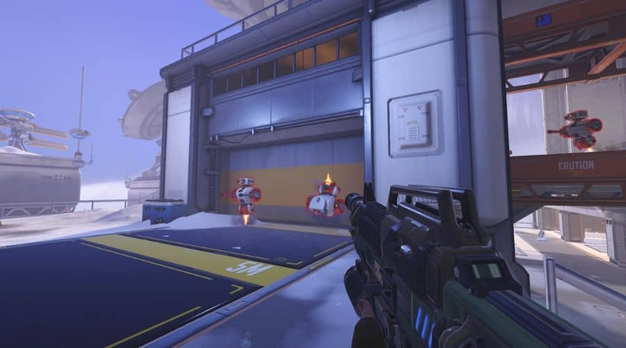 Example of the best graphics card for overwatch in action (GTX 970)